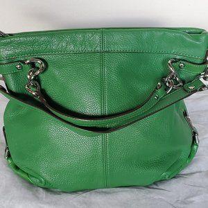 Coach Brooke green hobo/ shoulder bag.
